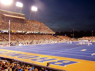 Blue Turf at Boise State