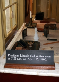 Room Where Lincoln Died