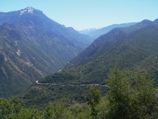 Road Down Kings Canyon