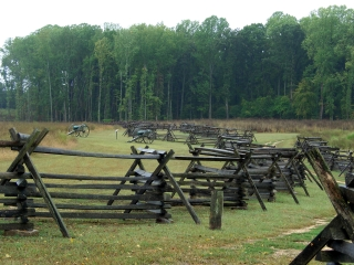 Gaines Mill Battlefied