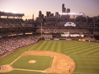 Sunset at Safeco
