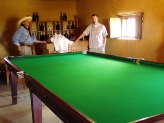Bent�s Old Pool Table