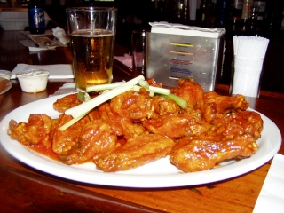 Authentic Buffalo Wings.